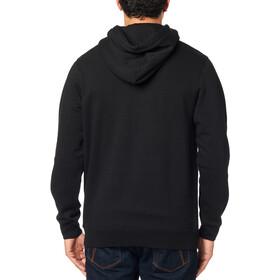Fox Chapped Fleece Pullover Herren black/orange